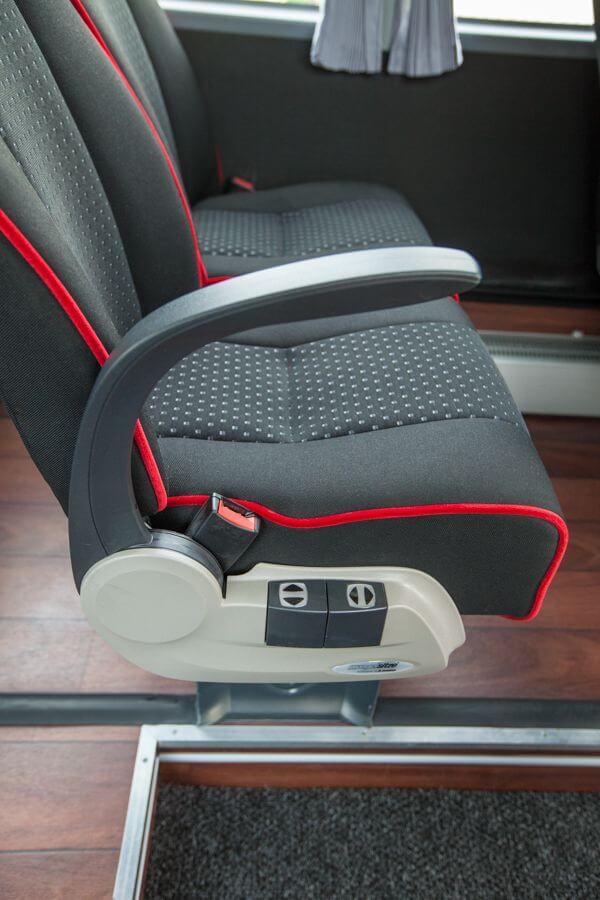 Iveco ProBus ML Innenansicht Sitze