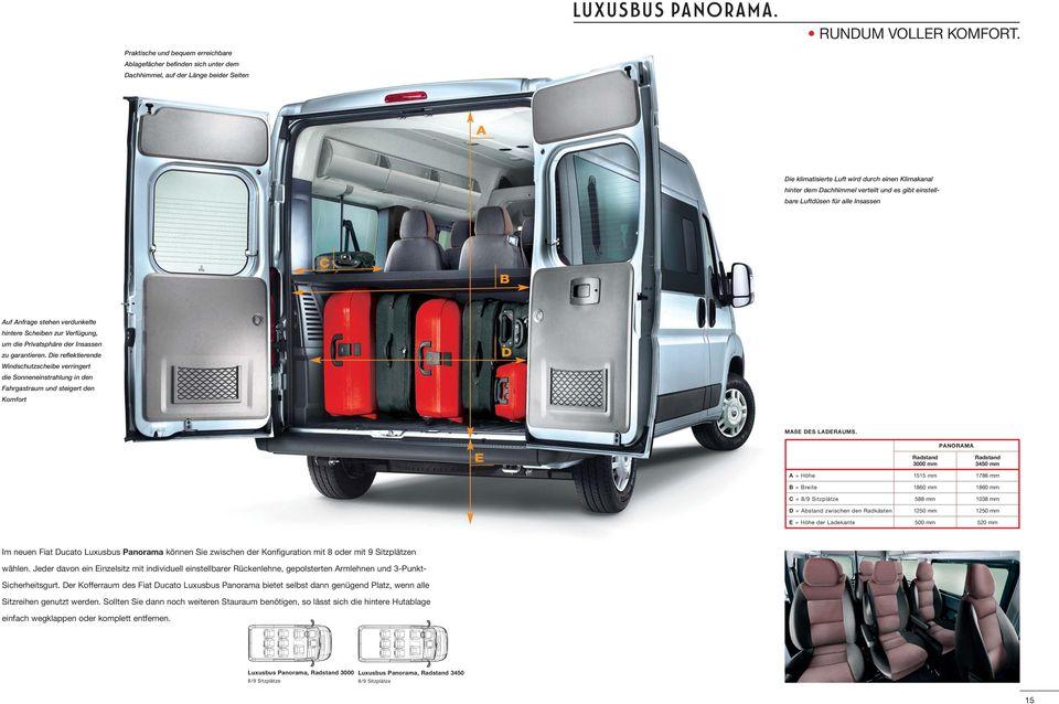 Fiat Ducato Kofferraum