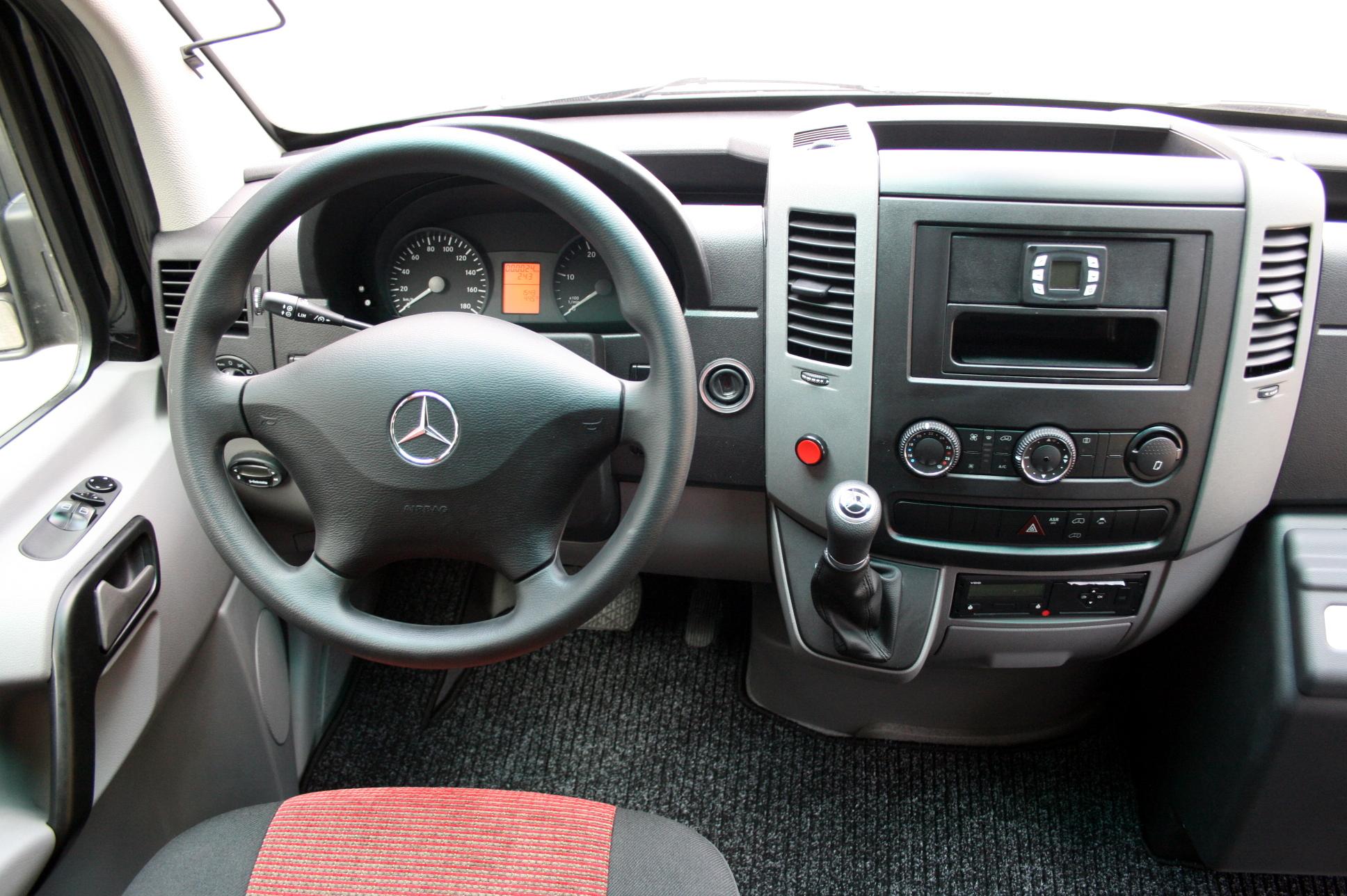 Mercedes Sprinter Innenansicht