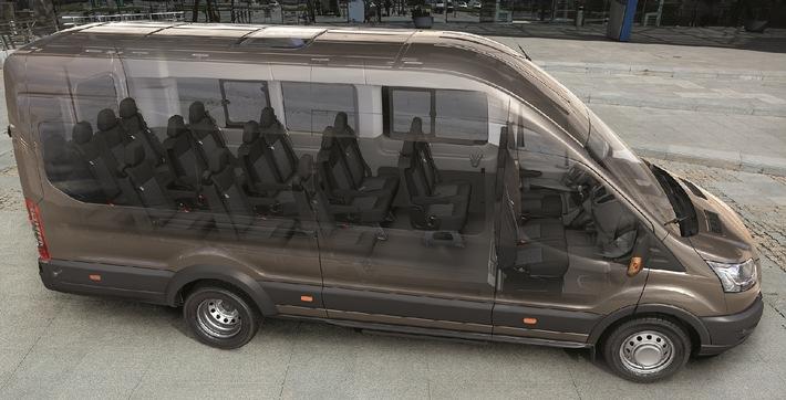 Ford Transit Innenansicht
