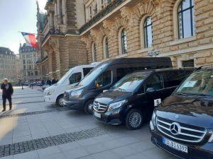 Buskontakt-Hamburg im Einsatz Busflotte