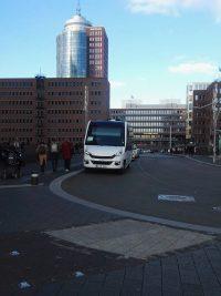 Buskontakt-Hamburg im Einsatz Hafencity