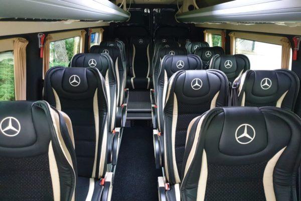 Mercedes Sprinter Innenansicht Buskontakt
